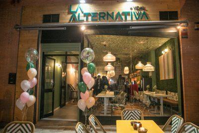 Inauguración La Alternativa + Vidal